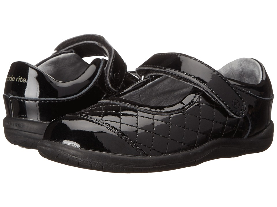 Stride Rite - SRT Regan (Toddler) (Black 1) Girl's Shoes