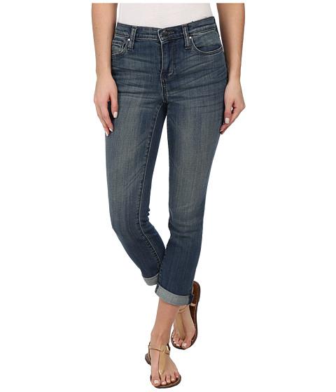 DKNY Jeans - Soho Skinny Rolled Crop in Lucid Sky Wash (Lucid Sky Wash) Women's Jeans