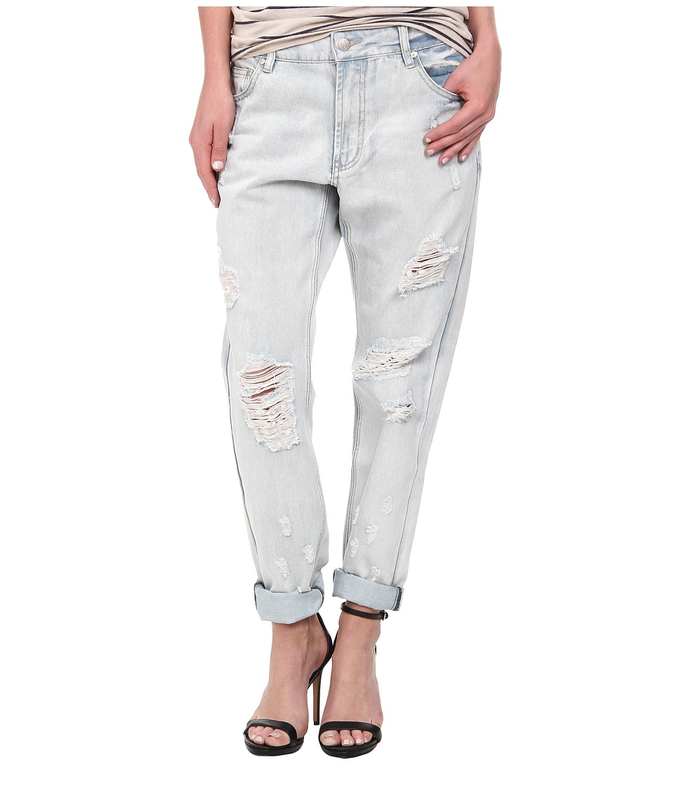 MINKPINK - Badlands Jeans in Denim/Blue (Denim/Blue) Women