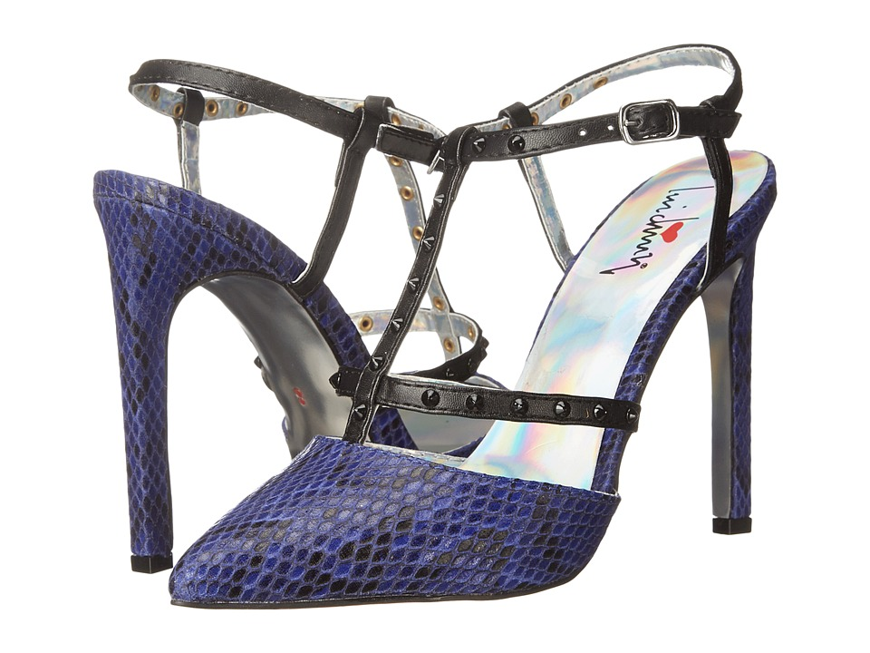 Luichiny That A Girl (Cobalt Snake) High Heels