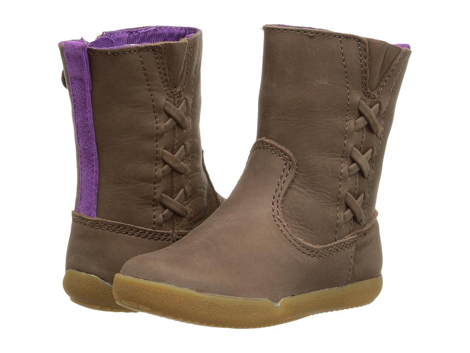 Stride Rite - Zora (Toddler) (Brown) Girls Shoes