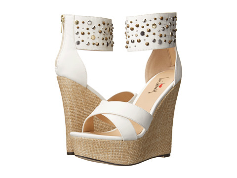 Luichiny - Min Dee (White) Women's Wedge Shoes