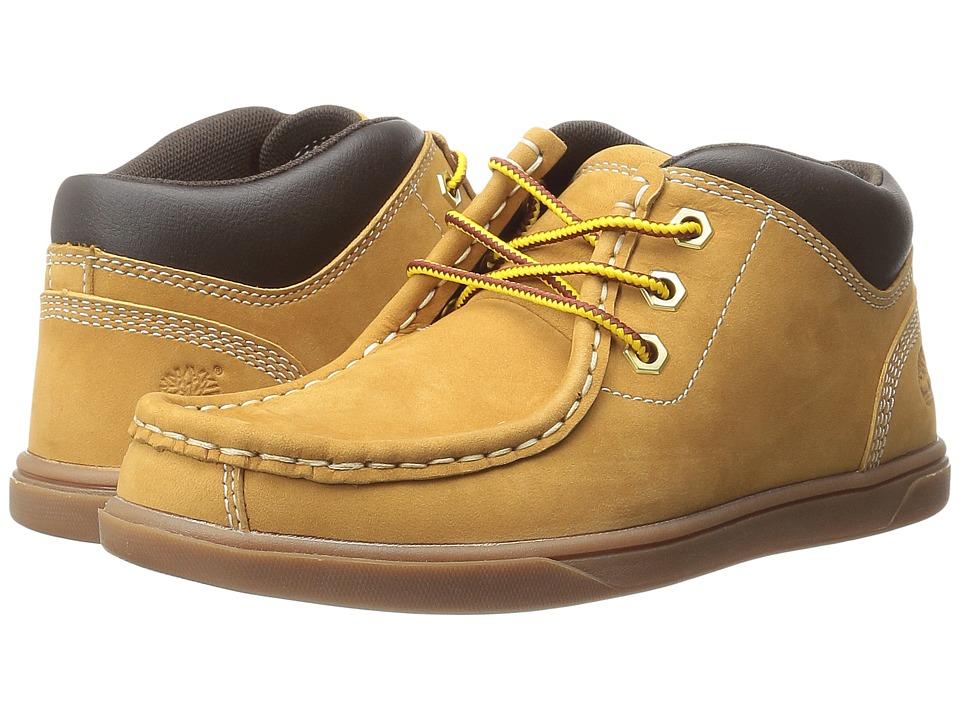Timberland Kids - Groveton Leather Moc Toe Chukka (Little Kid) (Wheat) Boys Shoes