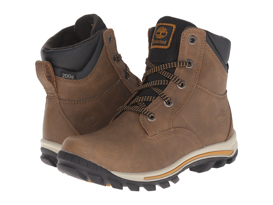 Timberland Kids - Chillberg Mid Waterproof Insulated (Little Kid) (Light Brown) Kids Shoes