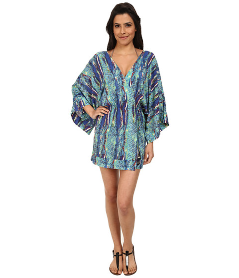 Vix - Stone Kimono (Stone) Women's Swimwear
