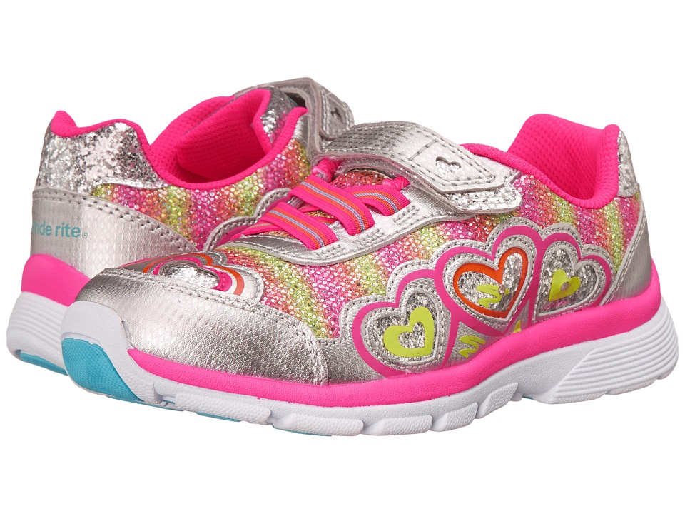 Stride Rite - Joy (Little Kid) (Silver/Pink) Girls Shoes