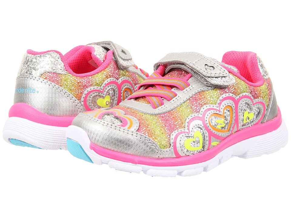 Stride Rite - Joy (Toddler/Little) (Silver/Pink) Girls Shoes