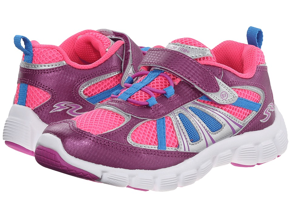 Stride Rite - Propel 2 A/C (Little Kid) (Purple/Pink/Blue) Girl's Shoes