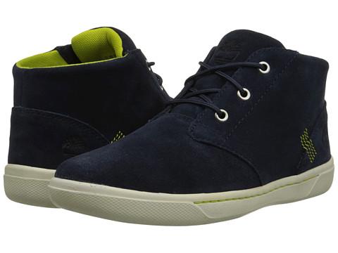 Timberland Kids - Littleton Lace Chukka (Big Kid) (Navy) Kids Shoes