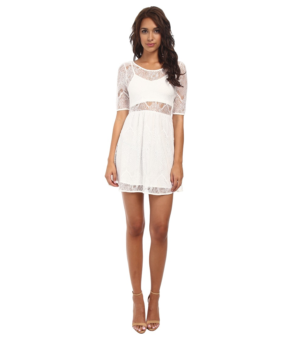 MINKPINK - Meet Me In St.Louis Dress (Cream) Women