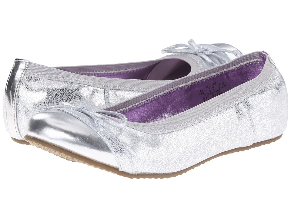 Stride Rite - Elsie (Little Kid) (Silver) Girl's Shoes