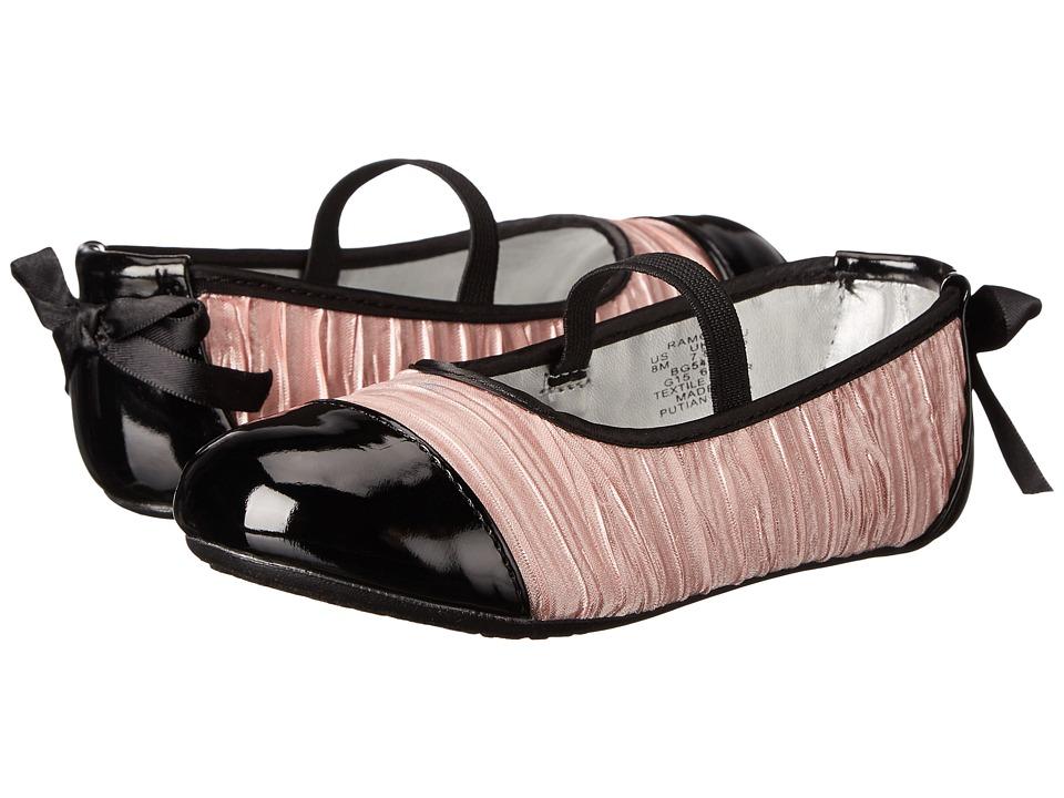 Stride Rite Ramona (Toddler) (Rose/Black) Girls Shoes