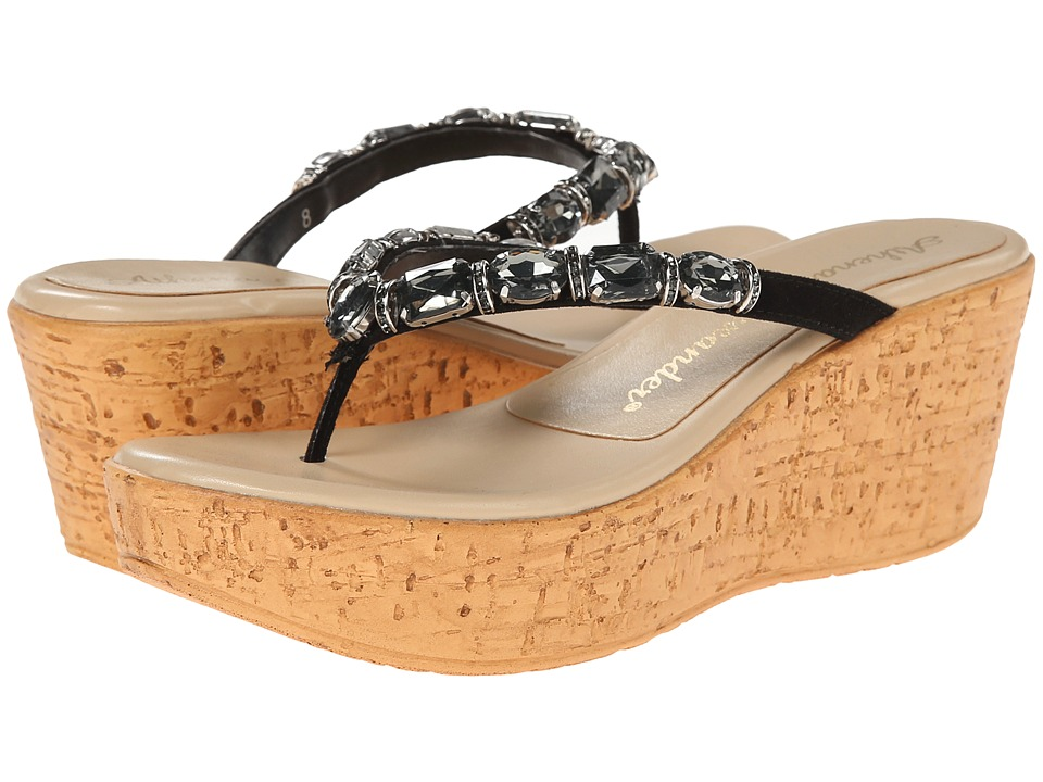 Athena Alexander - Paco (Black) Women's Sandals