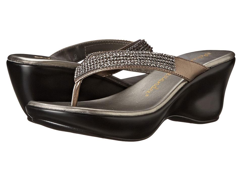 Athena Alexander Alinda Pewter Womens Sandals