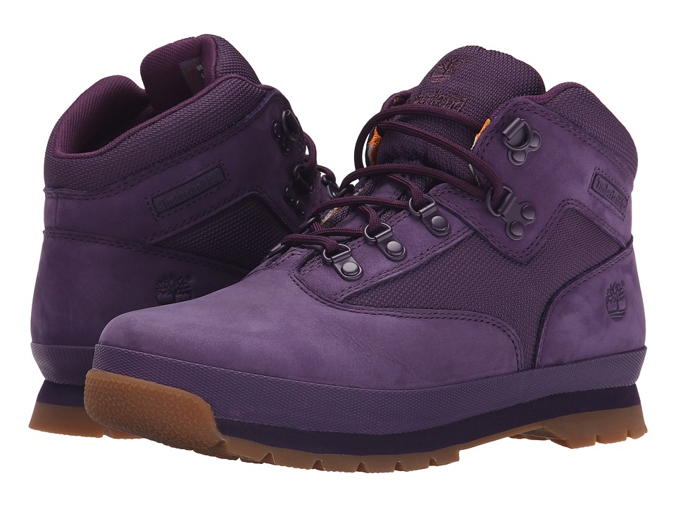 Timberland Kids - Euro Hiker (Big Kid) (Purple) Girls Shoes