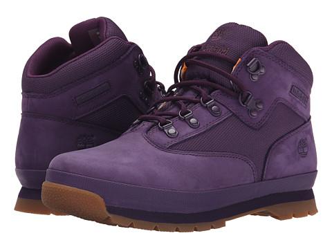 Timberland Kids - Euro Hiker (Big Kid) (Purple) Girls Shoes