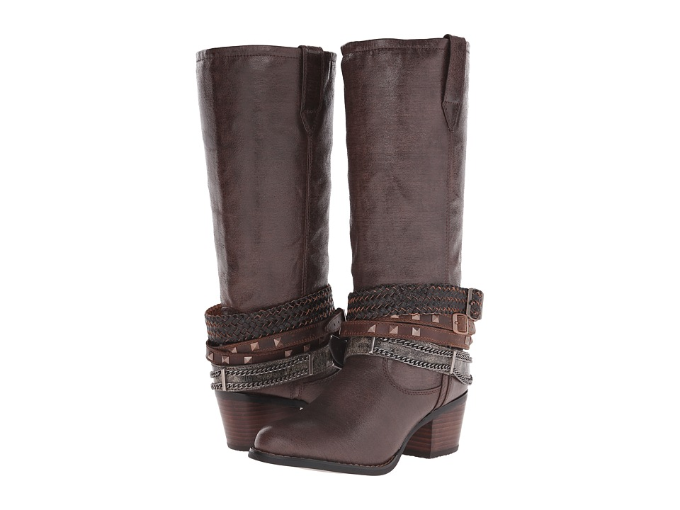 Durango Philly 14 w/ Detachable Ankle Straps (Brown) Cowboy Boots