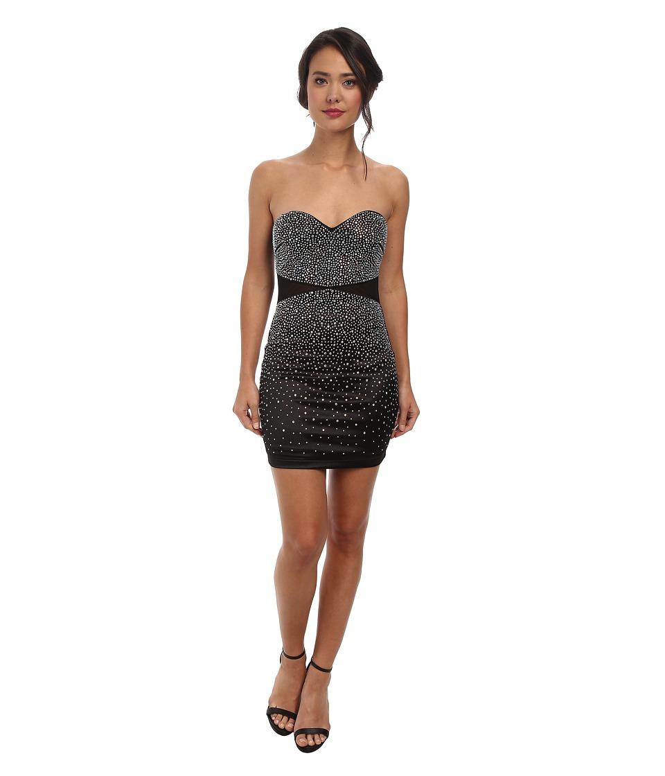 Alejandra Sky Millie Strapless Short Dress (Black) Women