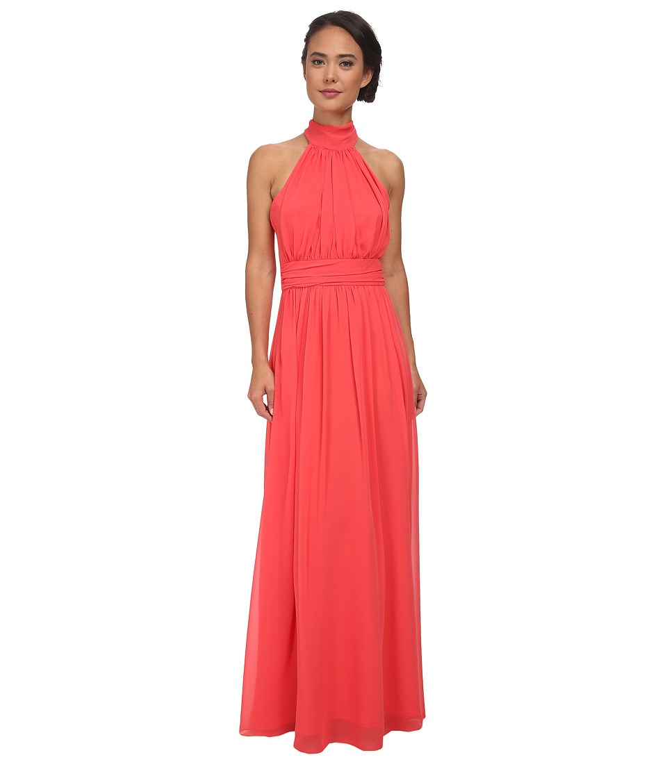 Alejandra Sky Courtney Long Dress (Coral) Women