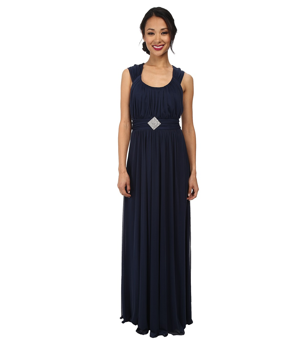 Alejandra Sky - Jennifer Gown (Navy) Women's Dress