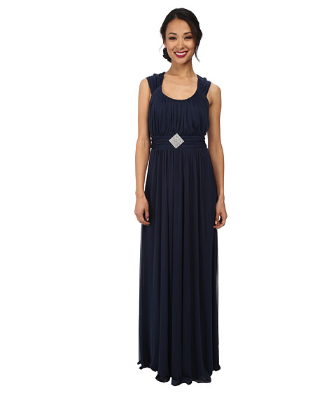 Alejandra Sky - Jennifer Gown (Navy) Women