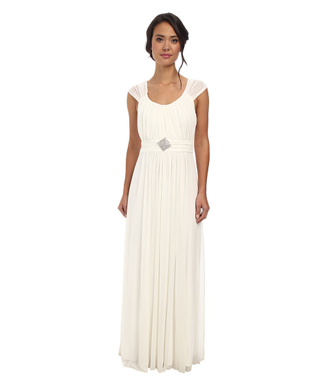 Alejandra Sky - Jennifer Gown (Ivory) Women's Dress