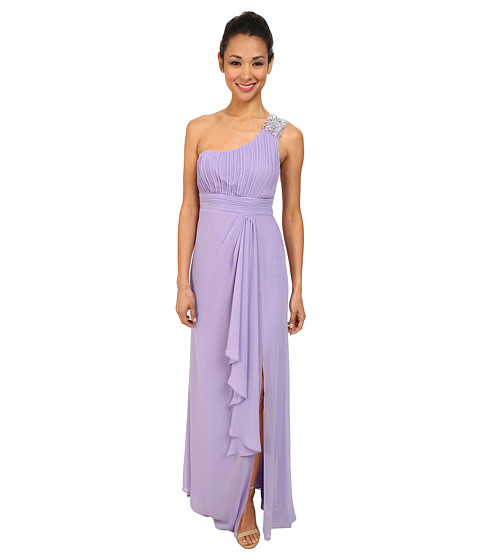 Alejandra Sky - Simone One Shoulder Dress (Lilac) Women