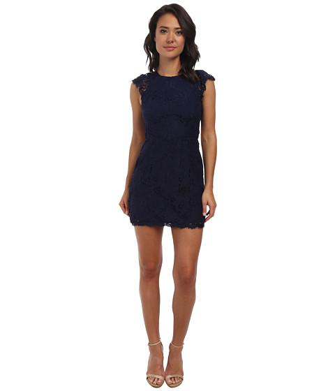 Alejandra Sky - Cassie Lace Dress (Navy) Women