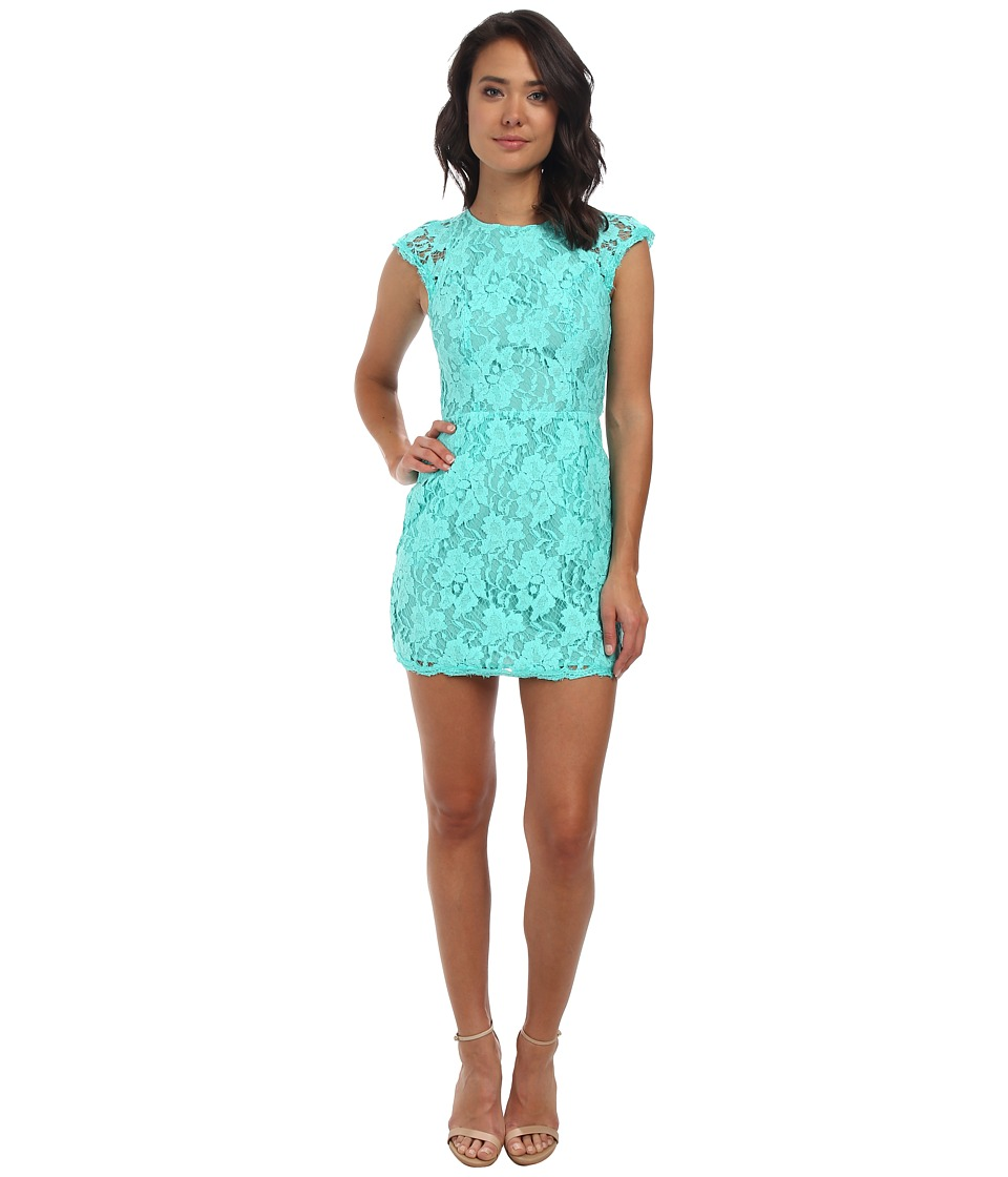 Alejandra Sky Cassie Lace Dress (Mint) Women