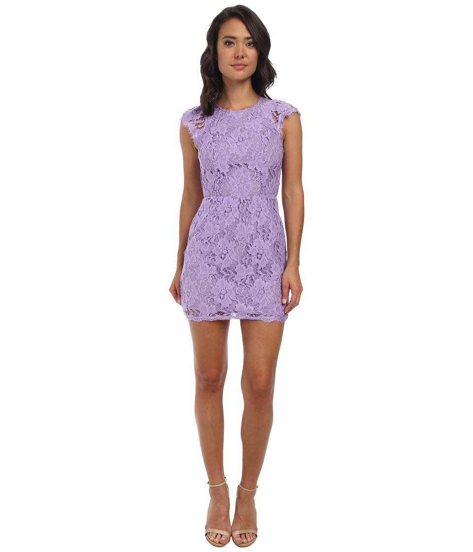 Alejandra Sky - Cassie Lace Dress (Lavender) Women's Dress