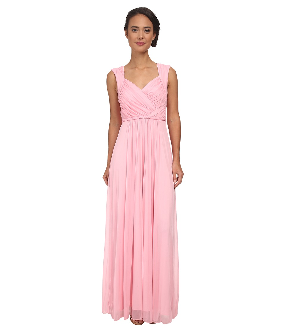 Alejandra Sky Allyson Braided Middle Gown (Pink) Women
