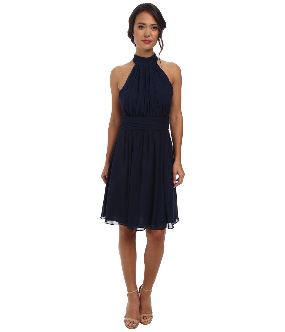 Alejandra Sky Jenny Short Dress (Navy) Women