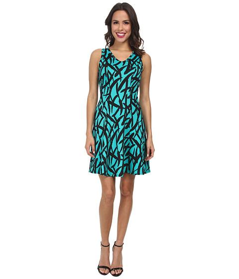 Karen Kane - Scuba Print Dress (Print) Women's Dress