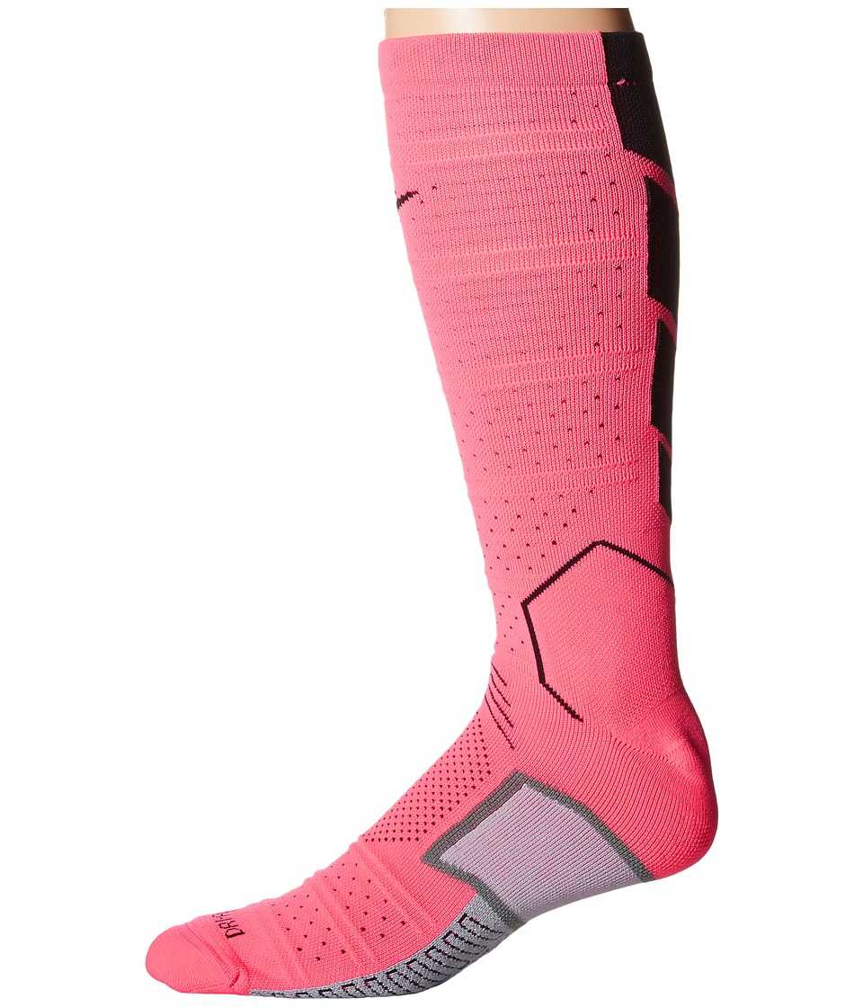 Nike - Matchfit Elite Mercurial (Hyper Pink/Black/Black) Crew Cut Socks Shoes