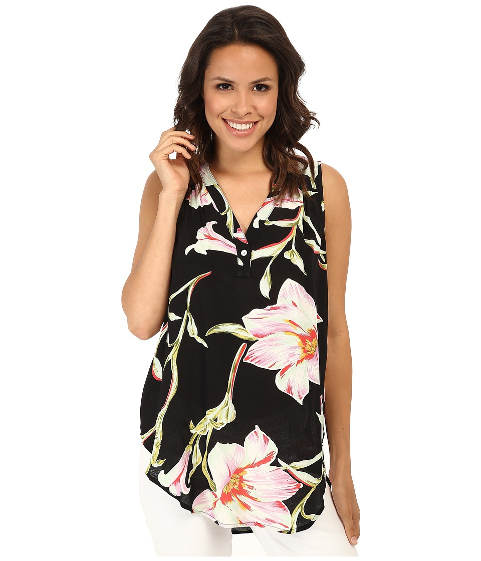 Karen Kane - Midnight Floral Sleeveless Top (Print) Women's Sleeveless