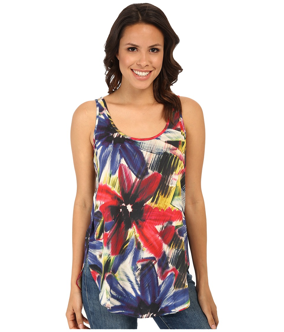 Karen Kane - Shirttail Tank Top (Print) Women's Sleeveless