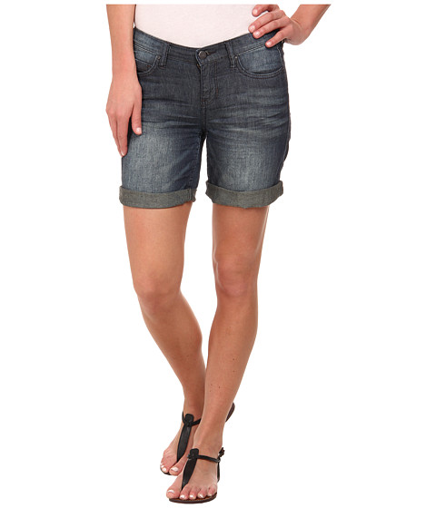 DKNY Jeans - Bleecker Boyfriend Rolled Shorts in Sheer Wash (Sheer Wash) Women's Shorts