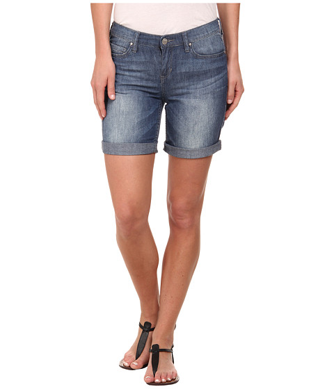 DKNY Jeans - Bleecker Boyfriend Rolled Shorts in Sandy Wash (Sandy Wash) Women's Shorts