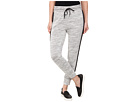 DKNY Jeans Textured Terry Mesh Trim Pants