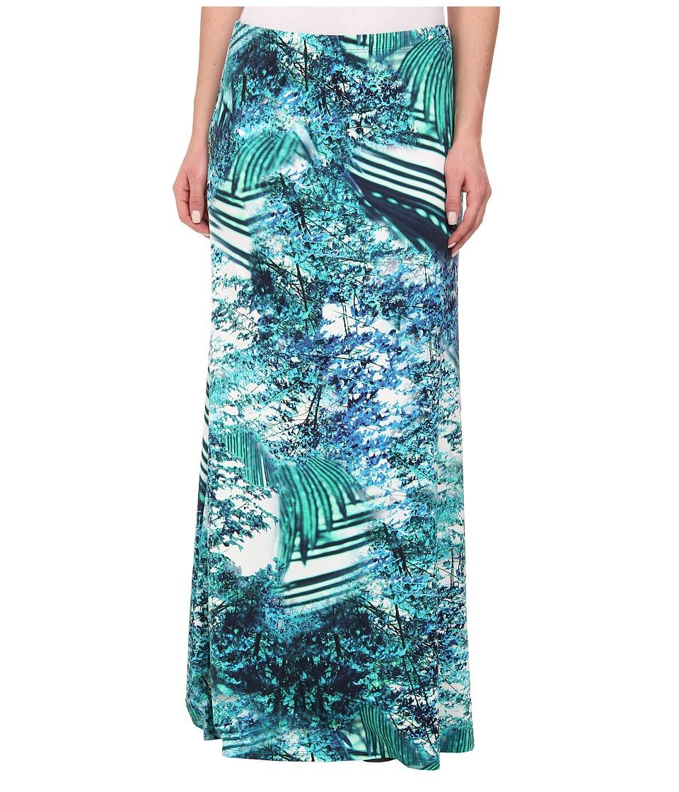 Karen Kane - Palmilla Print Maxi Skirt (Print) Women's Skirt