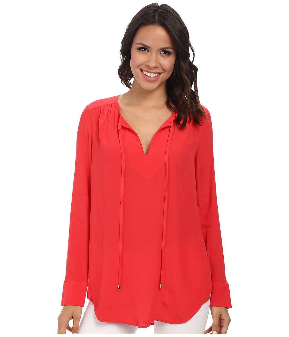 Karen Kane - Executive Blouse (Lipstick) Women's Blouse