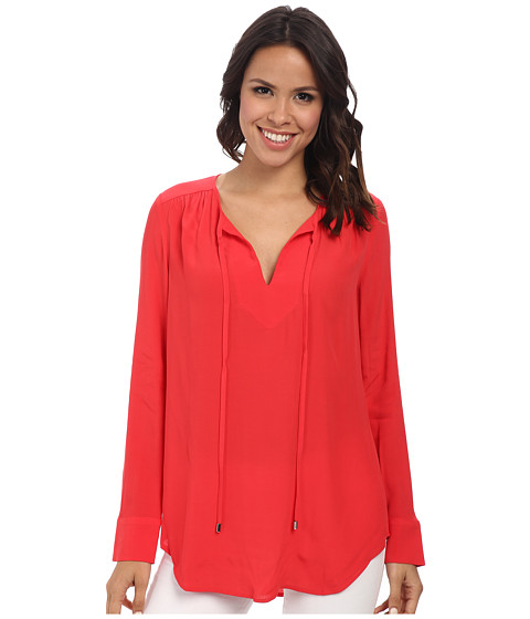 Karen Kane - Executive Blouse (Lipstick) Women