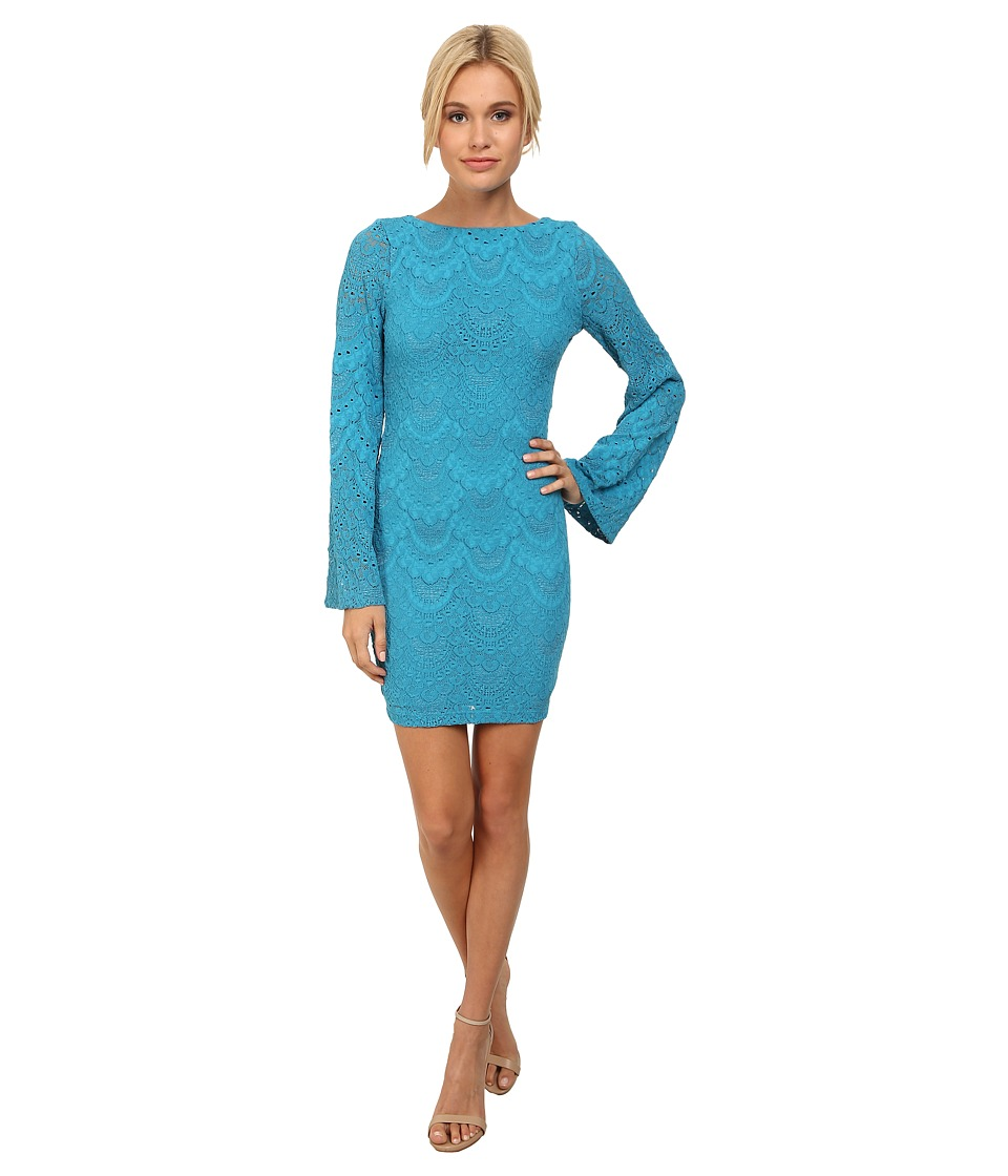 Nightcap - Spanish Priscilla Dress (Turquoise) Women's Dress