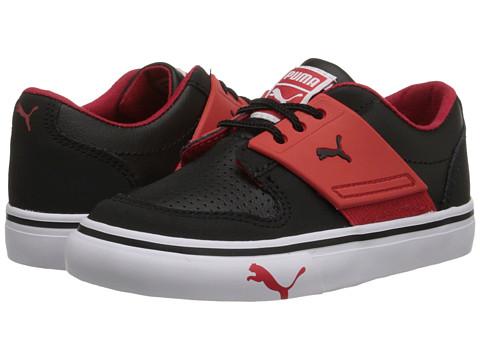 Puma Kids - El Ace 2 (Toddler/Little Kid/Big Kid) (Black/High Risk Red) Boys Shoes