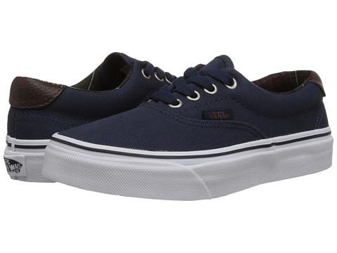 Vans Kids - Era 59 (Little Kid/Big Kid) ((Plaid) Dress Blues) Boys Shoes