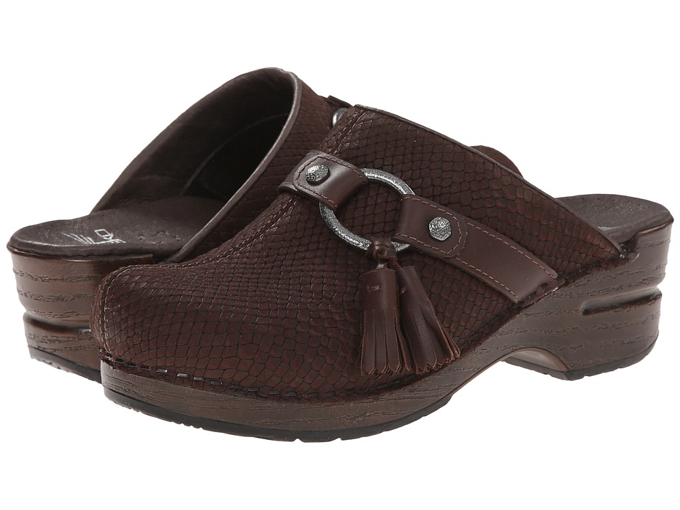 Dansko - Shandi (Brown Snake) Women's Shoes