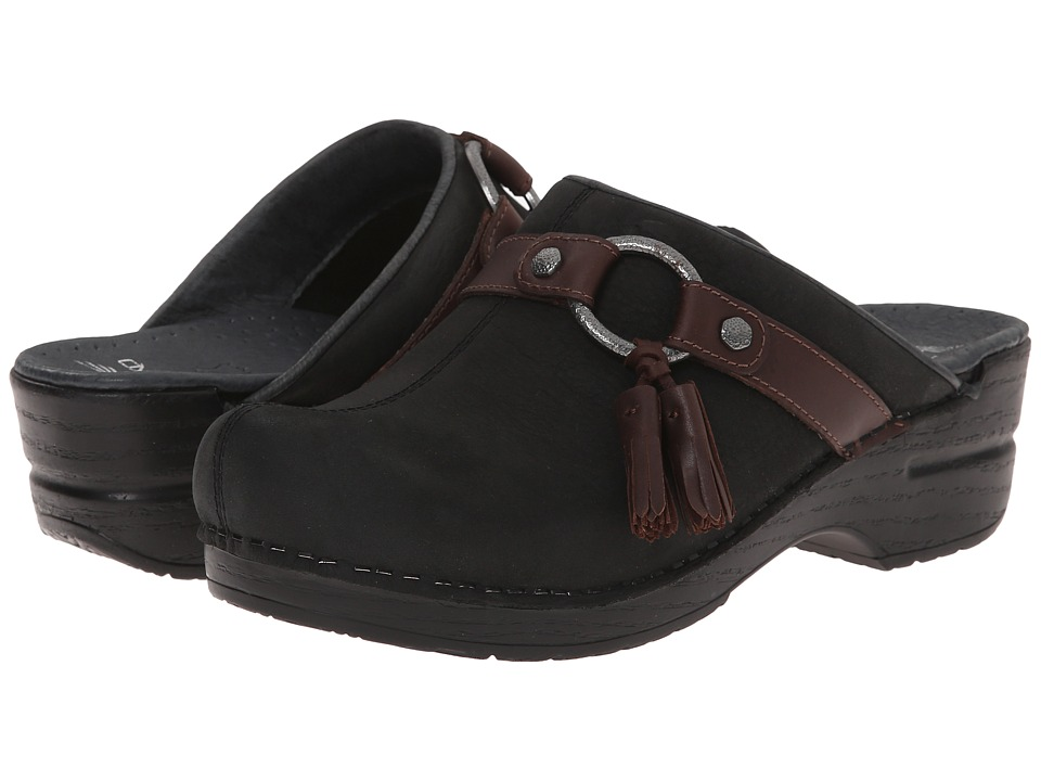 Dansko - Shandi (Black Milled Nubuck) Women's Shoes