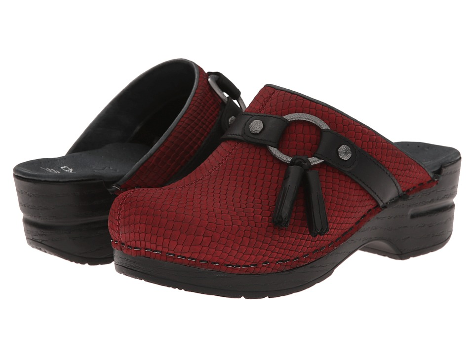 Dansko - Shandi (Cranberry Snake) Women's Shoes