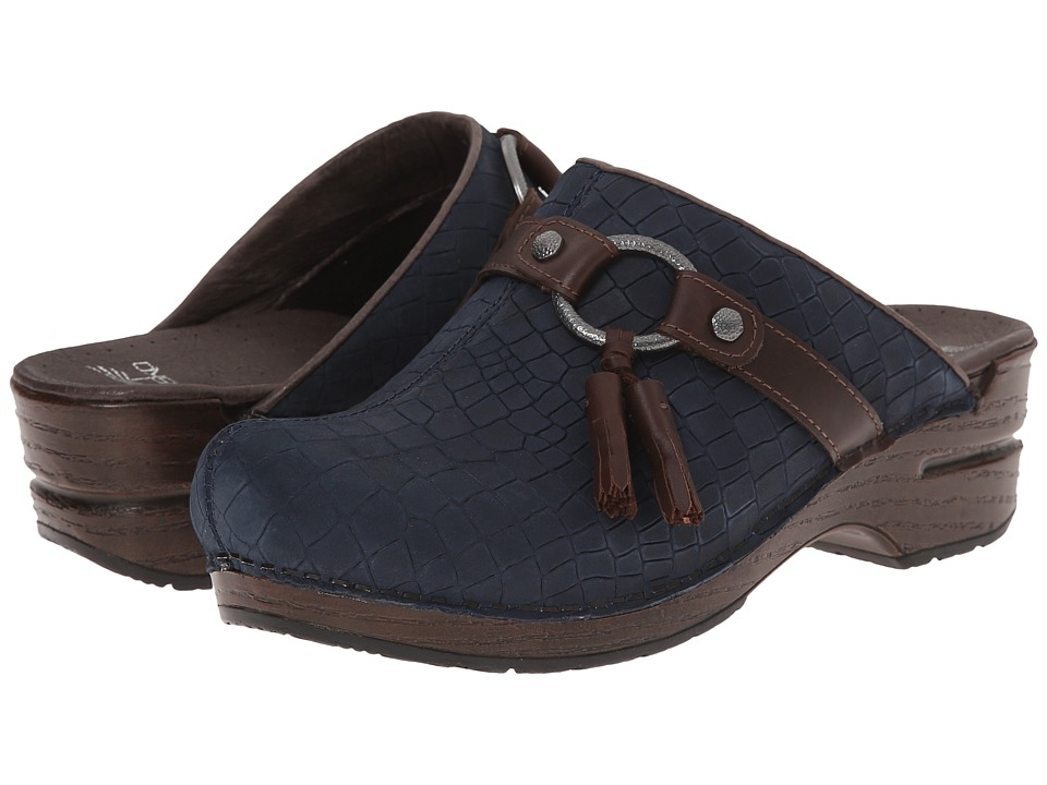 Dansko - Shandi (Blue Croc) Women's Shoes