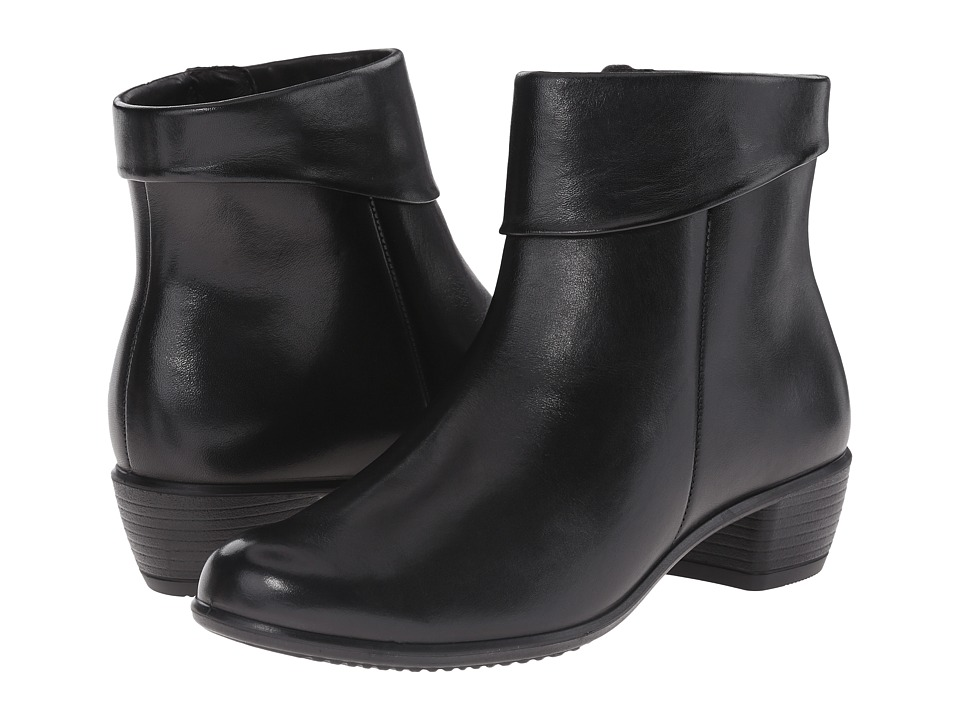 ECCO - Touch 35 (Black) Women's Boots